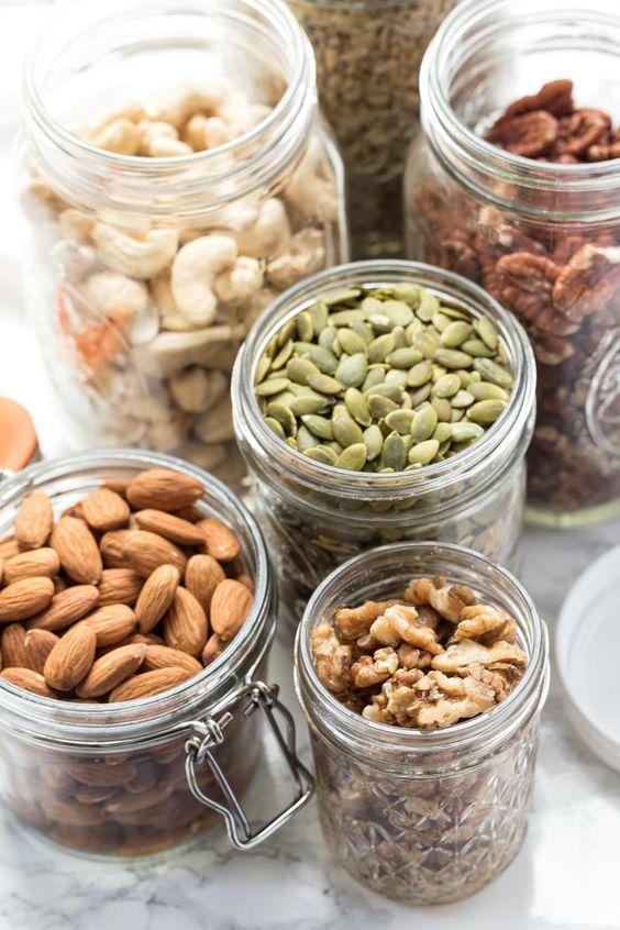 Alternative Nut Butters | raw almonds, pepita seeds walnuts cashews pecans | Girlfriend is Better