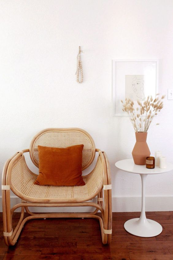 Caned Chair Decor | Caned Chairs | Girlfriend is Better