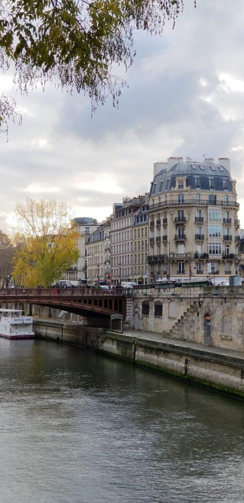 Paris Ground Zero   River Seine Rive Gauche Left Bank bridge architecture   Girlfriend is Better