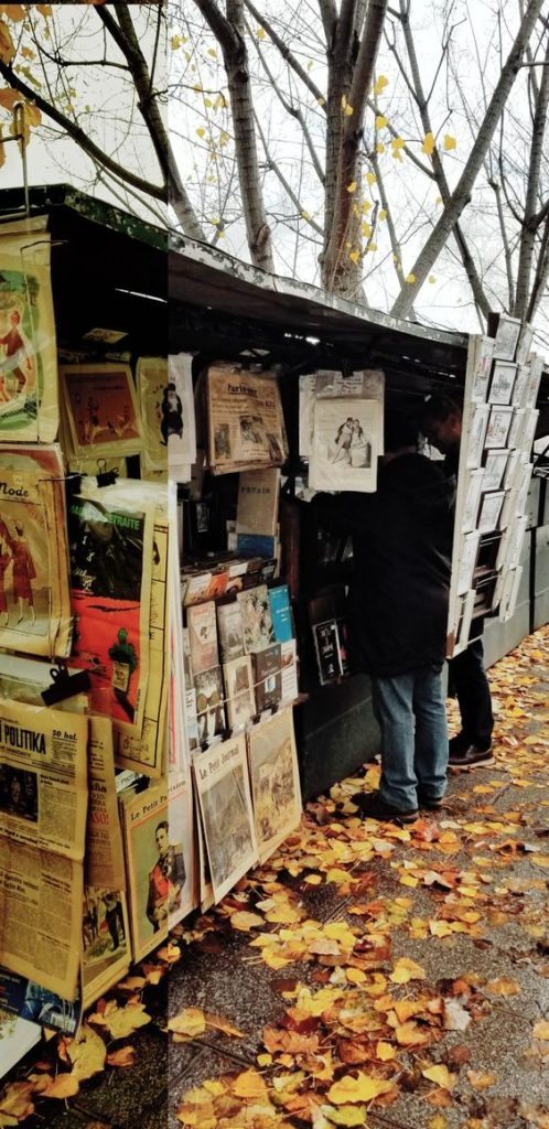 Paris Ground Zero   Left Bank booksellers vintage books Rive Gauche   Girlfriend is Better