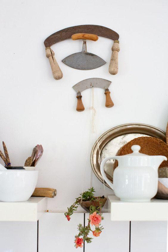 winter Hygge   minimal kitchen white vintage handmade   Girlfriend is Better