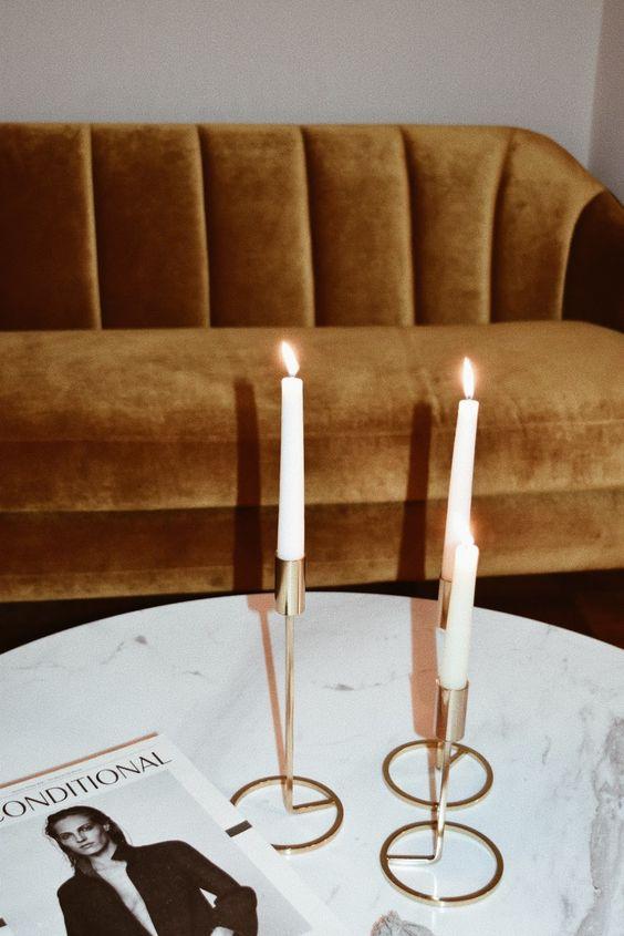 Candlesticks | Grunge sofa | Girlfriend is Better
