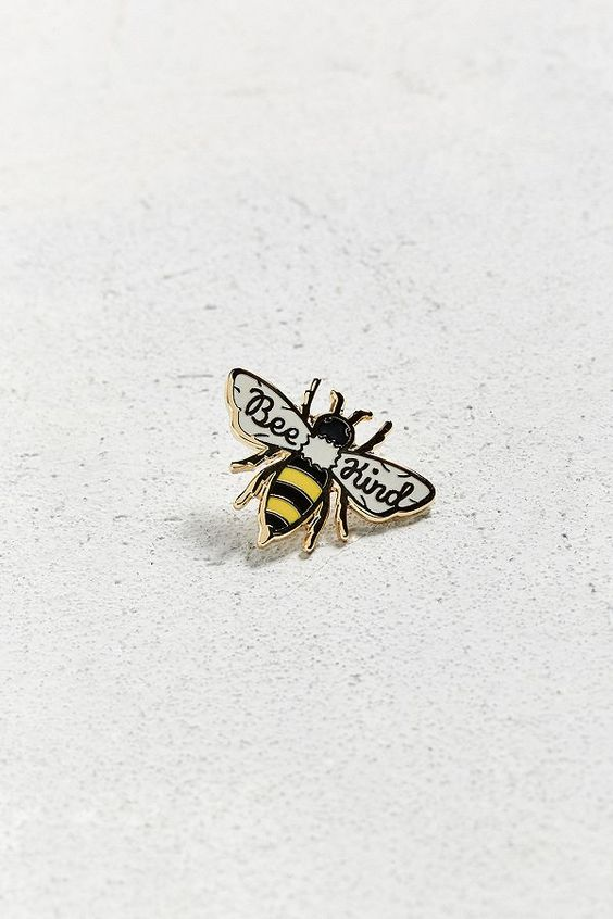 Enamel Pins | Bee pin | Girlfriend is Better