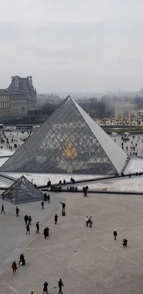 Paris 2nd arrondissement | Louvre Museum pyramid art scenic views | Girlfriend is Better