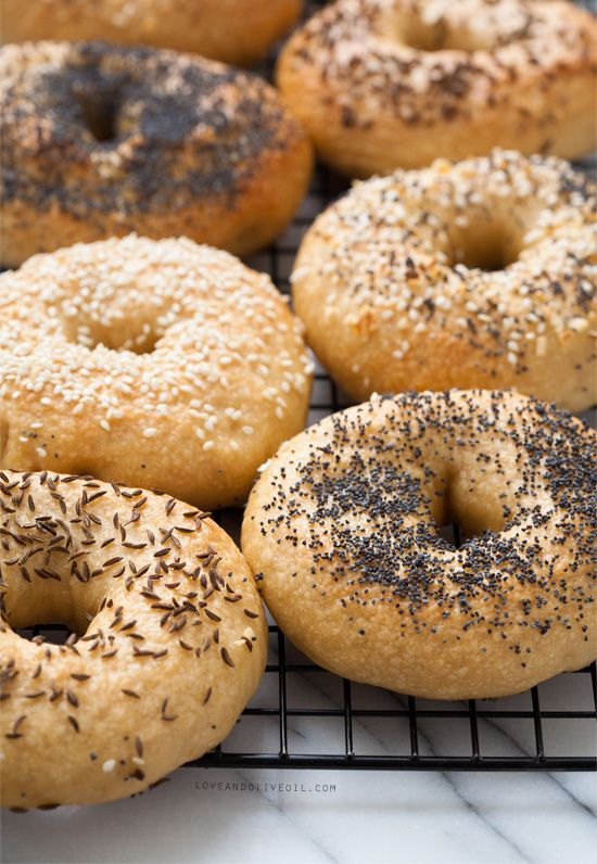 bagel sandwich | poppy seed sesame fresh baked | Girlfriend is Better