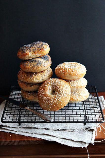 bagel sandwich | homemade baking sesame poppy seed | Girlfriend is Better