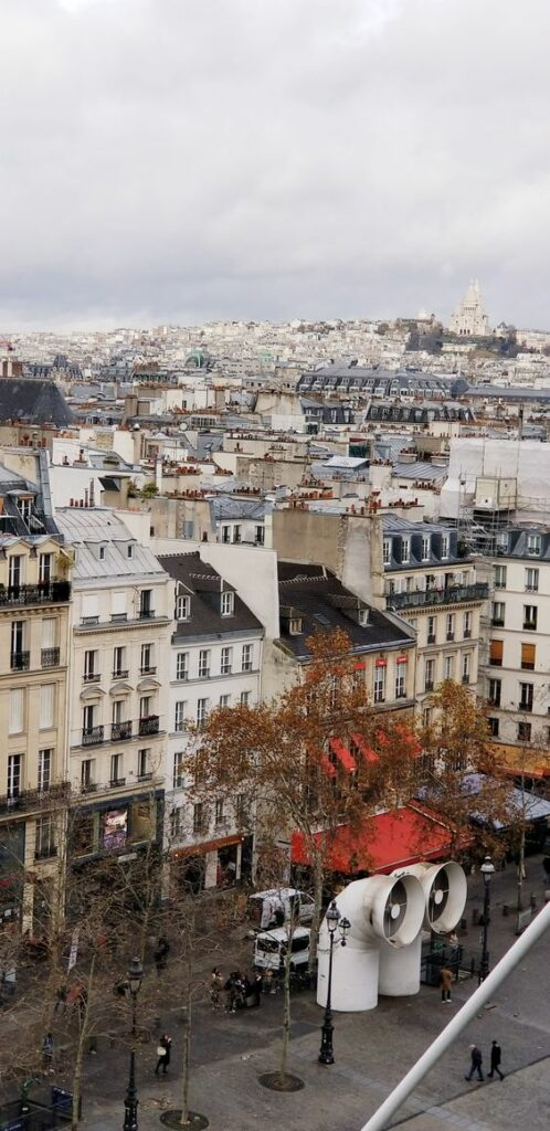 Paris 4th arrondissement | Pompidou Center scenic views rooftops France | Girlfriend is Better