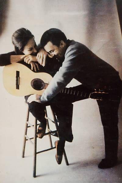 bossa nova |  Astrud and João Gilberto Brazilian musicians  50s 60s classic nylon string guitar | Girlfriend is Better