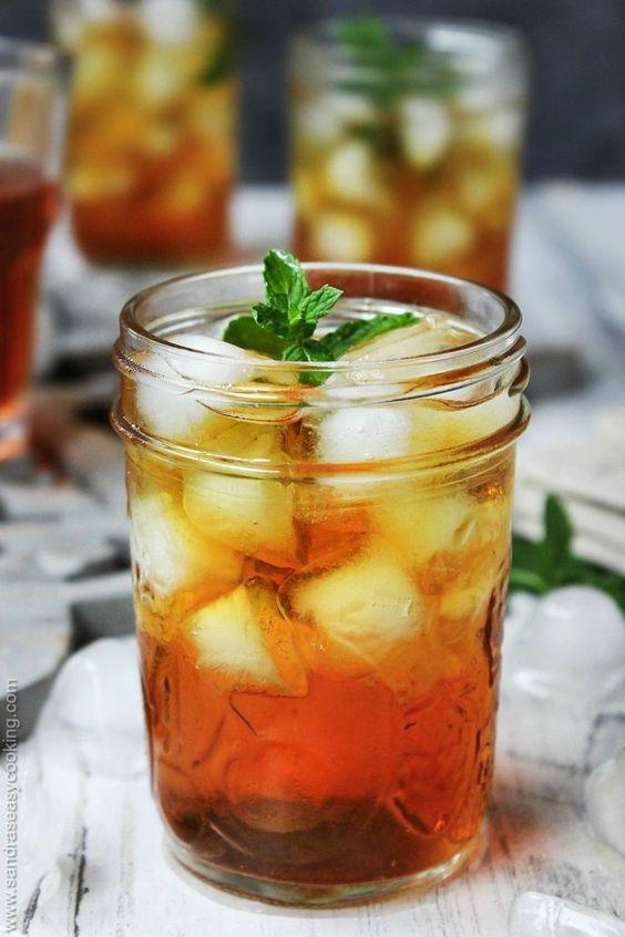 rooibos tea | iced oxalic acid heart health South Africa herbal recipe | Girlfriend is Better