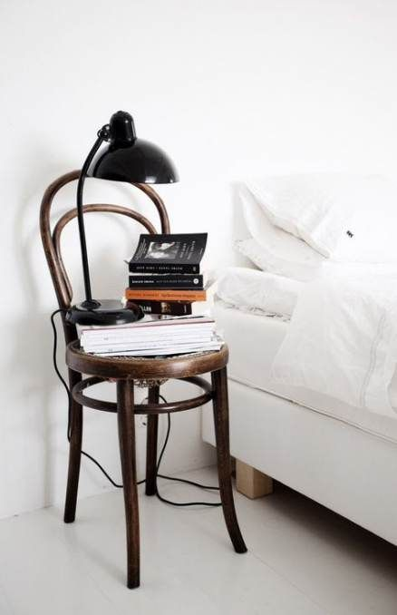 bentwood chairs | nightstand bedroom vintage wood element | Girlfriend is Better
