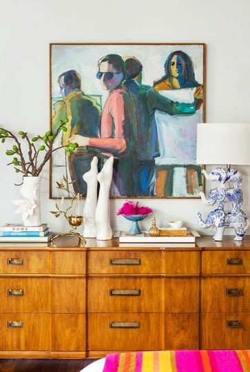 bust statues | Bohemian eclectic sculptures legs abstract art Chinoiserie | Girlfriend is Better