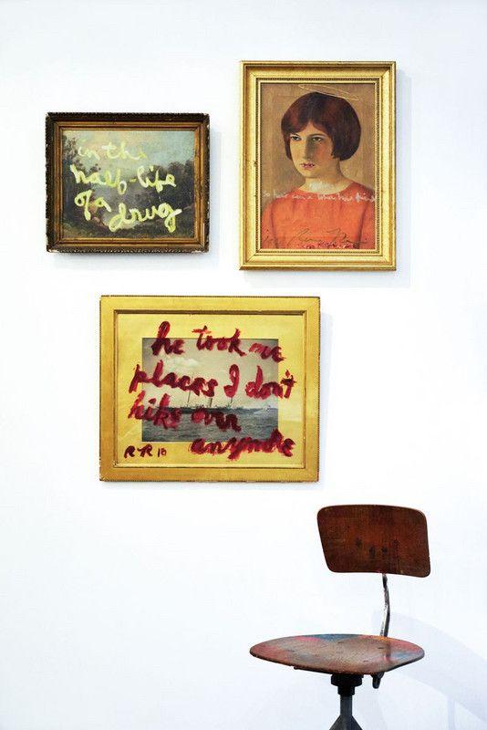 displaying art | minimalism graffiti art gallery wall | Girlfriend is Better