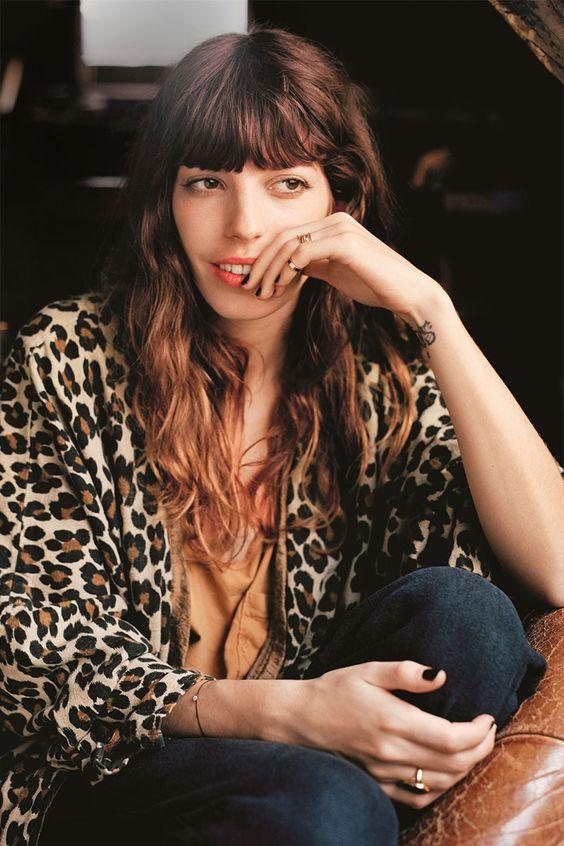leopard print   French girl cool jacket   Girlfriend is Better