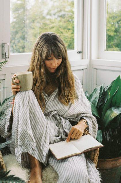 linen jumpsuits | home loungewear liesurewear wide leg | Girlfriend is Better