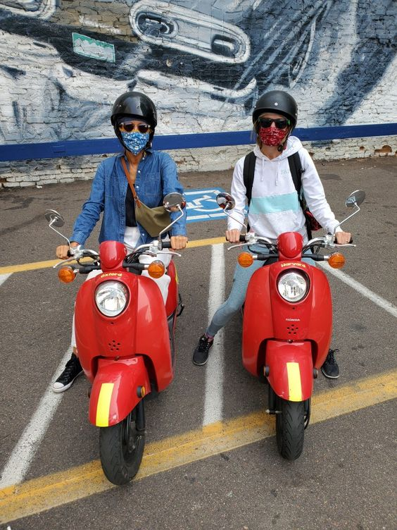 Denver Colorado | ScooTours review moped rentals | Girlfriend is Better