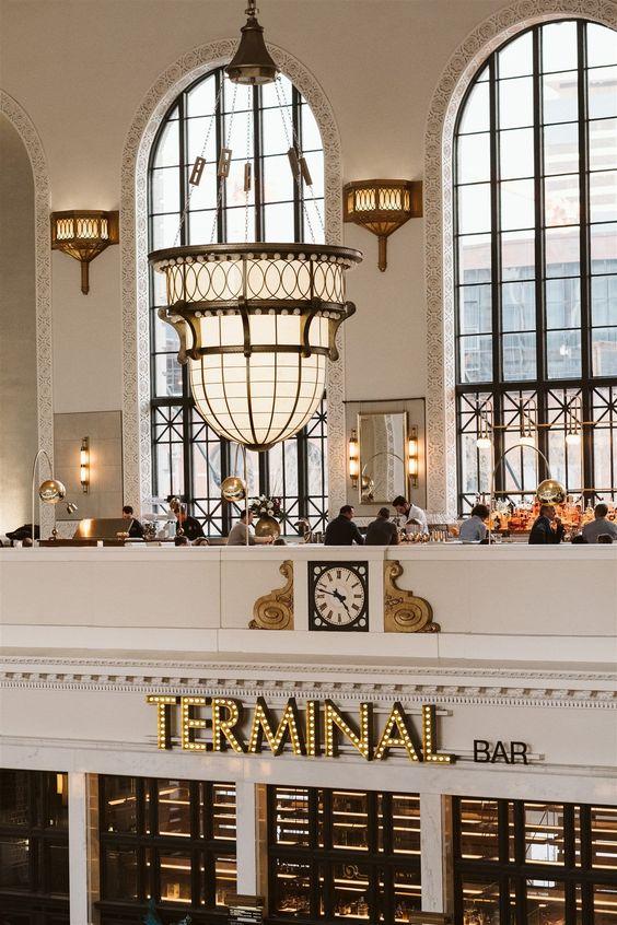 Denver Colorado   Union Station Terminal Bar shopping eating tourist historical   Girlfriend is Better