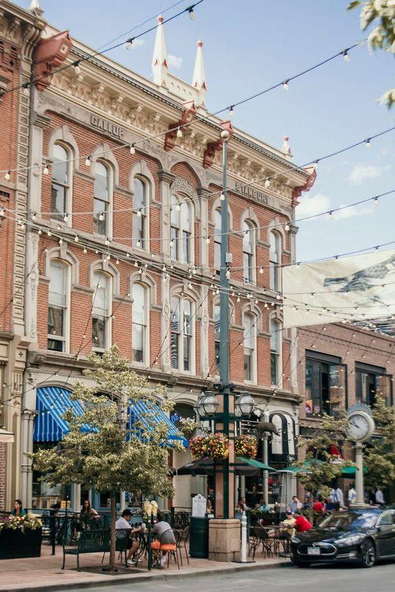 Denver Colorado   Larimer Square shopping restaurants outdoor   Girlfriend is Better