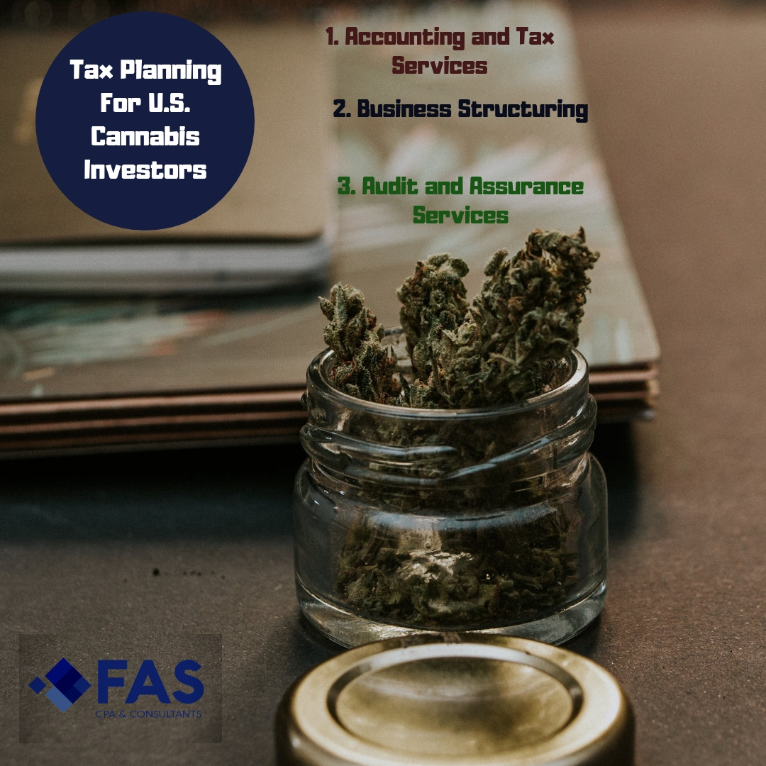 Tax Planning For U.S. Cannabis Investors