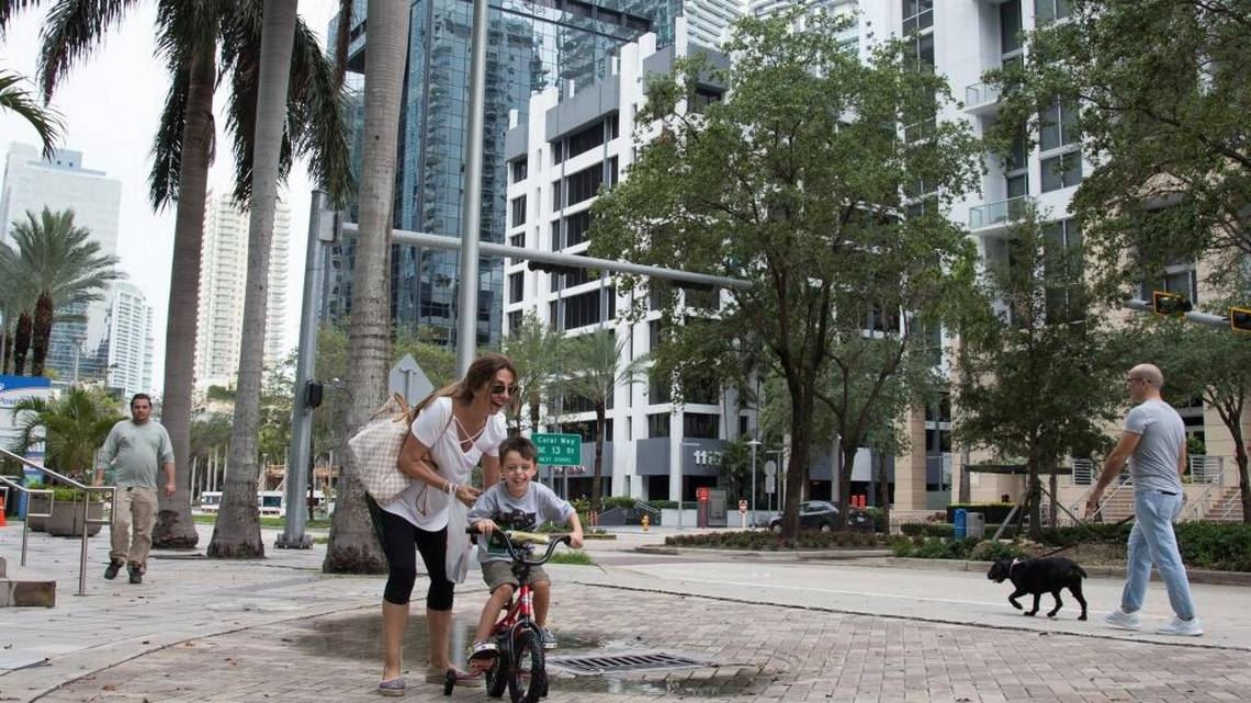 At home in downtown Miami: The secret's out