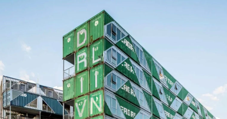 Striking apartment building is made up of 140 shipping containers