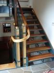 Alt text: 110 Bernardo stair case