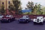 Alt text: 356B Porsche at the Peaks