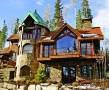 Alt text: 15 Stonegate rustic architecture