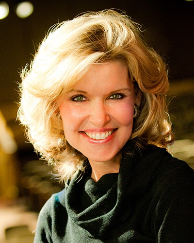 Keynote Speaker Vicki Hitzges smiling in turtleneck (Headshot)