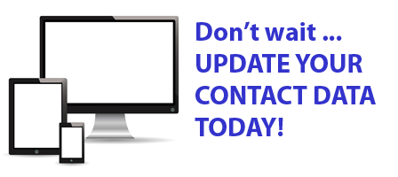 Click here to learn how to update your contact information
