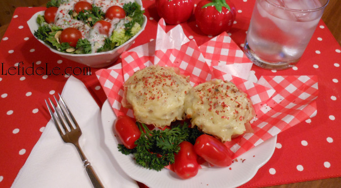 "Meatloaf ""Cupcakes"" & Mashed Potato ""Frosting"" April Fool's Recipe (Allergy-Friendly, Gluten-Free, Egg-Free, Dairy-Free) + Traditional Loaf Option & Hearty Meatloaf Sandwich"