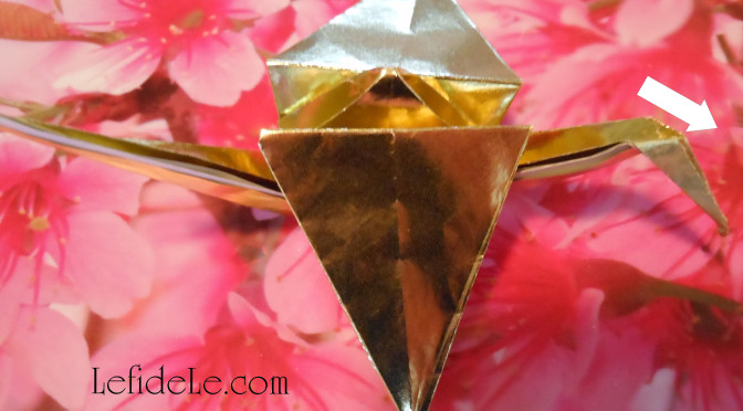 Origami Crane Paper Folding Instructions (for Get Well Wishes or Chinese New Year Party Décor)