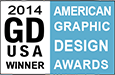 Graphic Design USA magazine American Graphic Design Awards Winner 2014