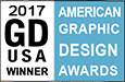 Graphic Design USA magazine American Graphic Design Awards Winner 2017