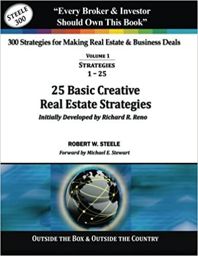 25 Basic Creative Real Estate