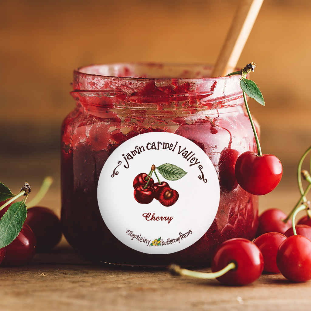 Jamin Carmel Valley Cherry Jam