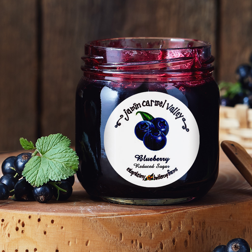 Jamin Carmel Valley Blueberry Jam