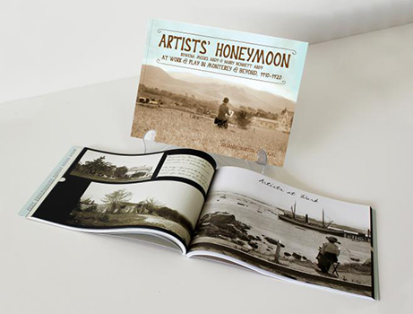 Artists' Honeymoon - book printing sample - Community funded project