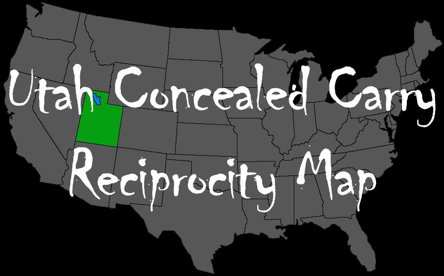 Reciprocity Map - Utah Carry Laws