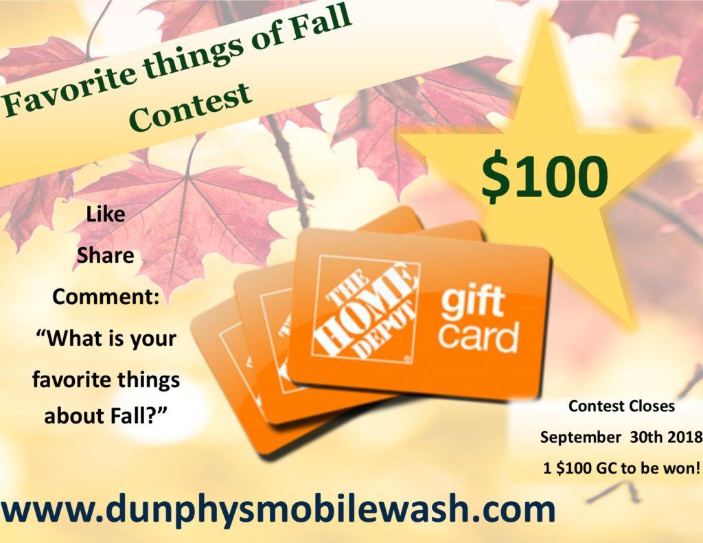 Fall Contest
