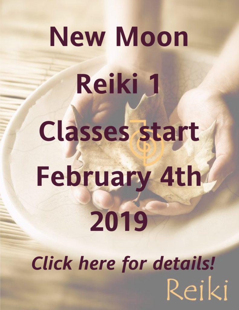Reiki Class Button
