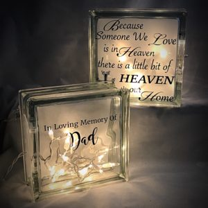 Lighted Glass Blocks