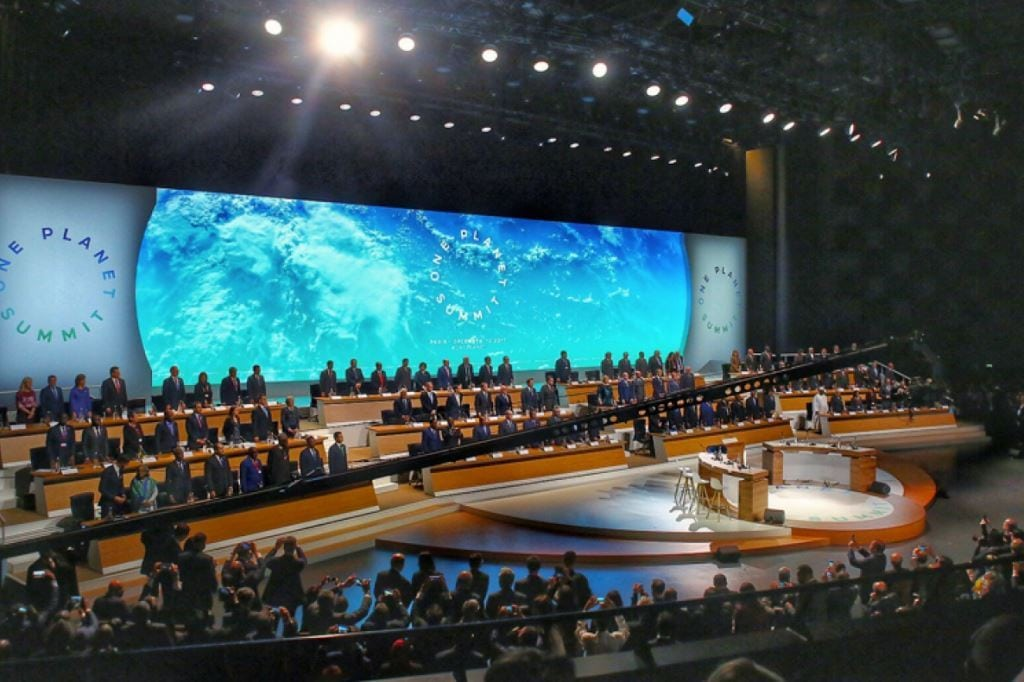 The One Planet Summit