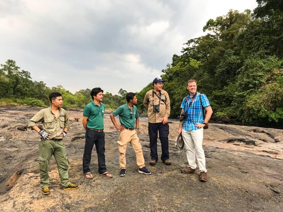 British Ambassador Bill Longhurst visited Steung Areng Community-based Ecotourism