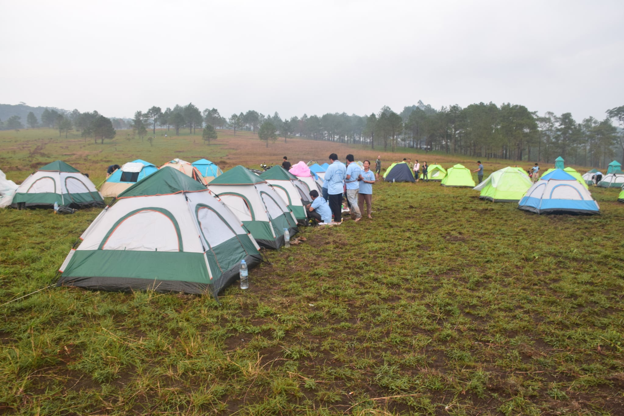 Stung Areng CBET inaugural camping event