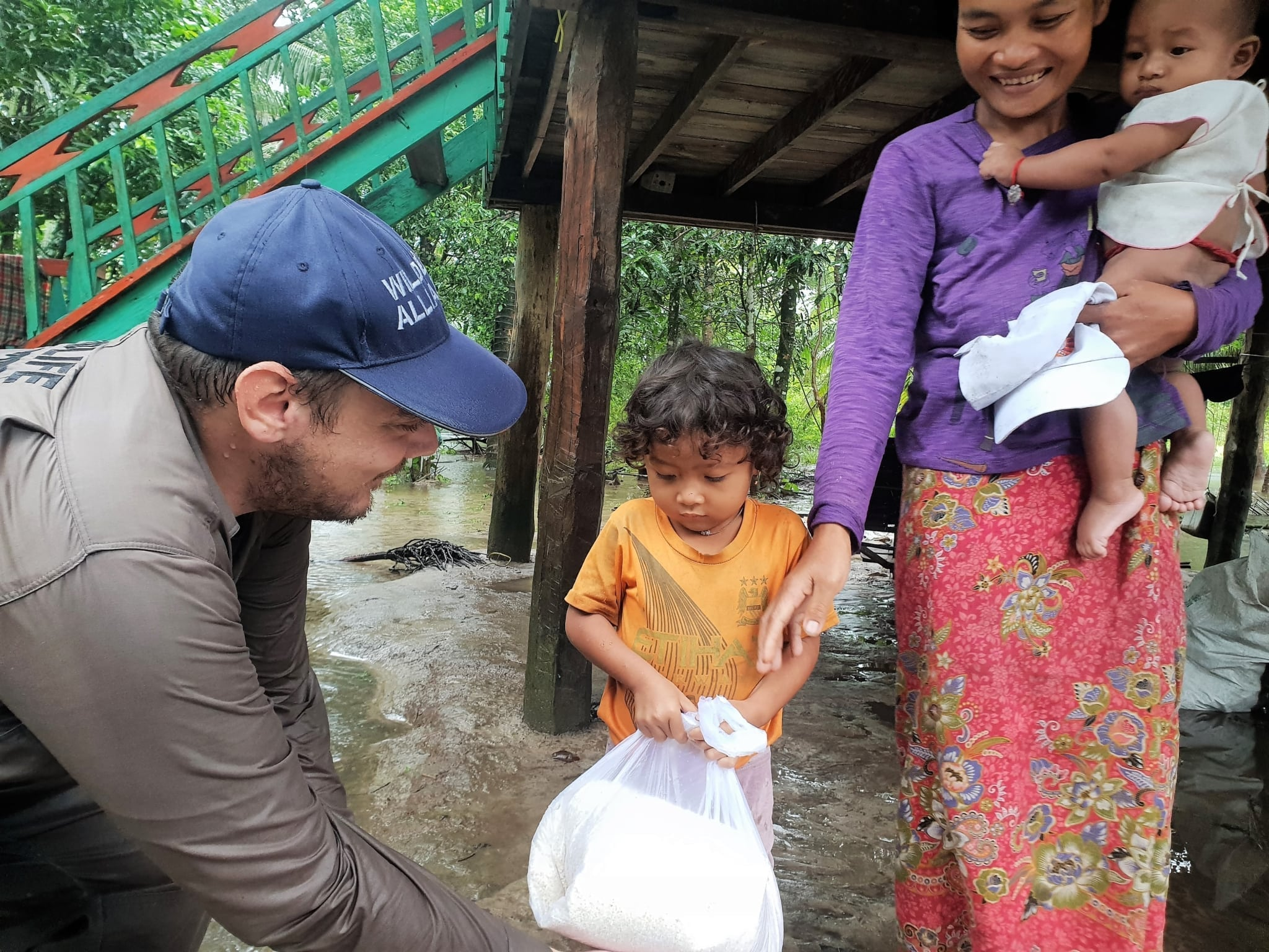 Conservation Turned to Relief Efforts