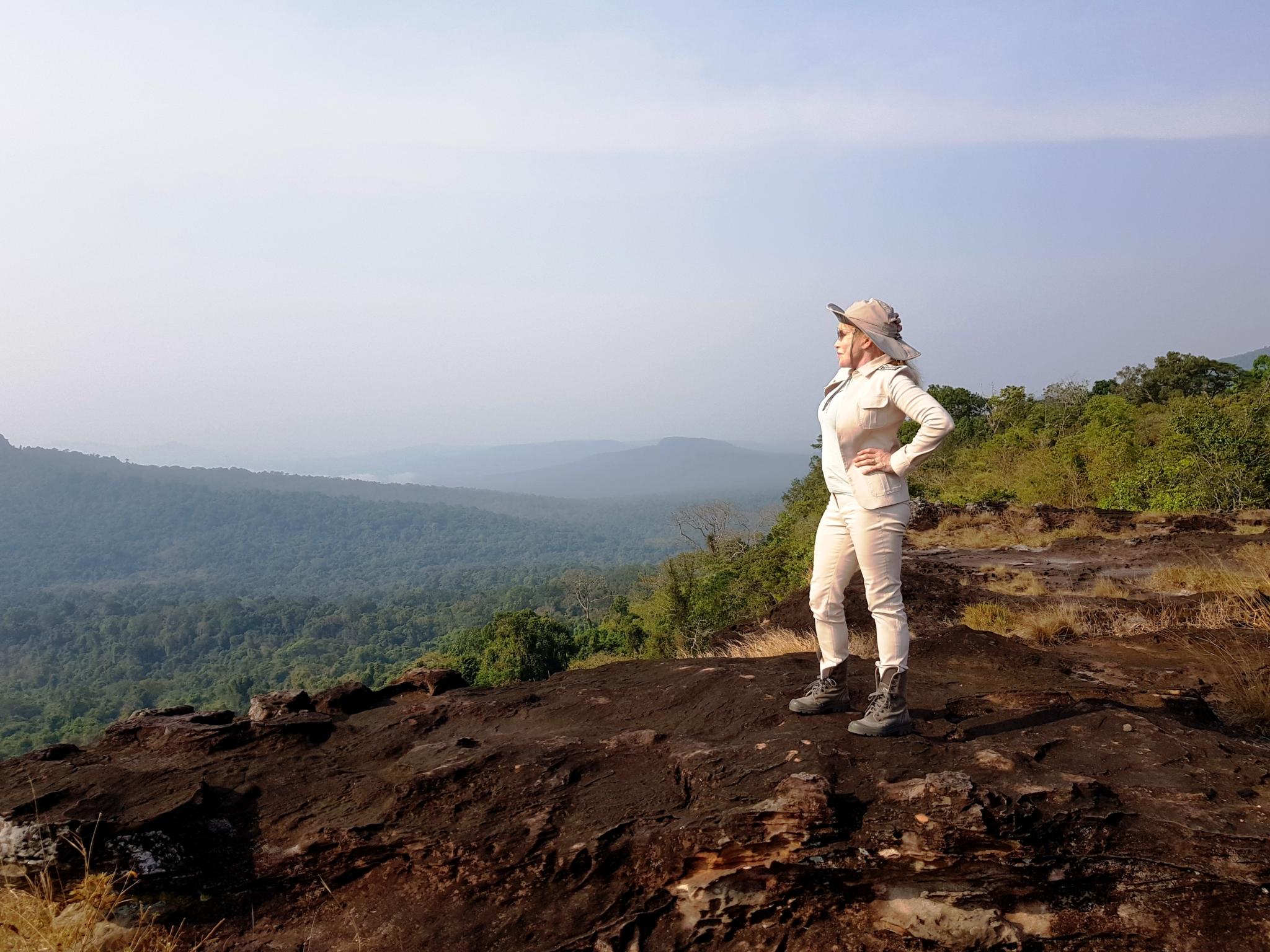 Wildlife Alliance Founder and CEO, Suwanna Gauntlett visit at Shinta Mani Wild
