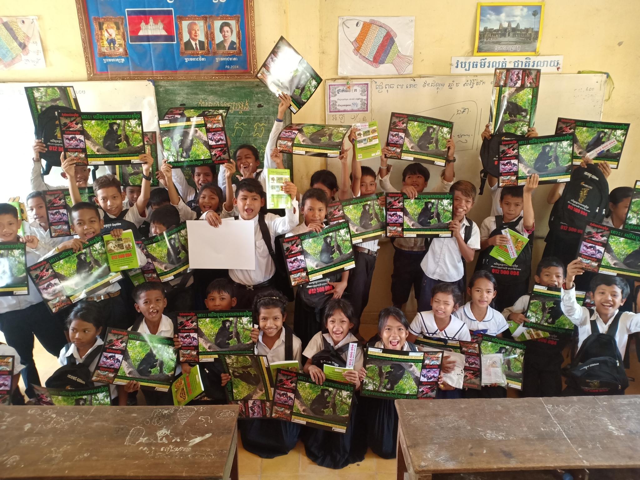 Education intervention in a wildlife trade hotspot