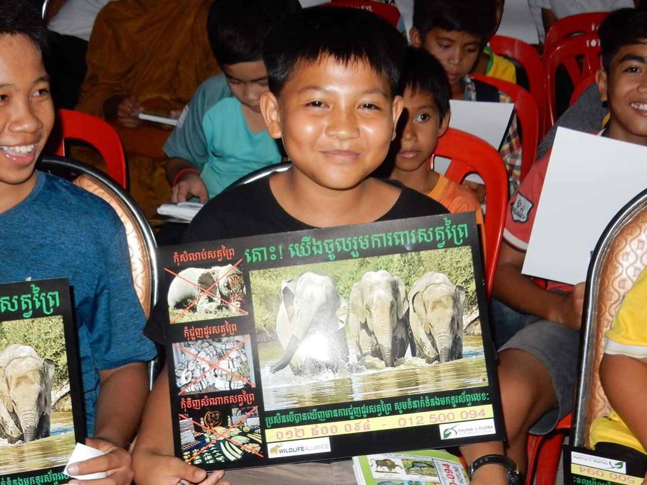 Classroom lessons and first hand experiences inspires students to protect wildlife
