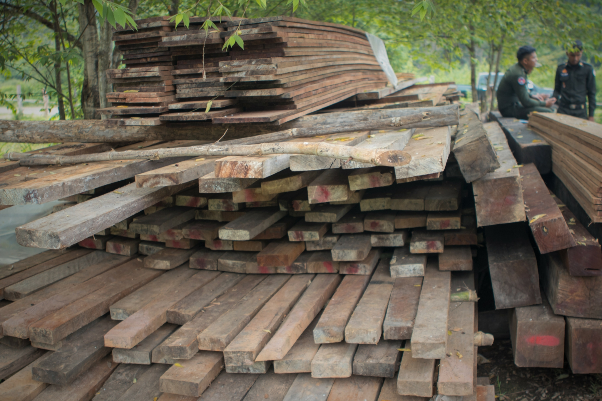 Construction timber stock