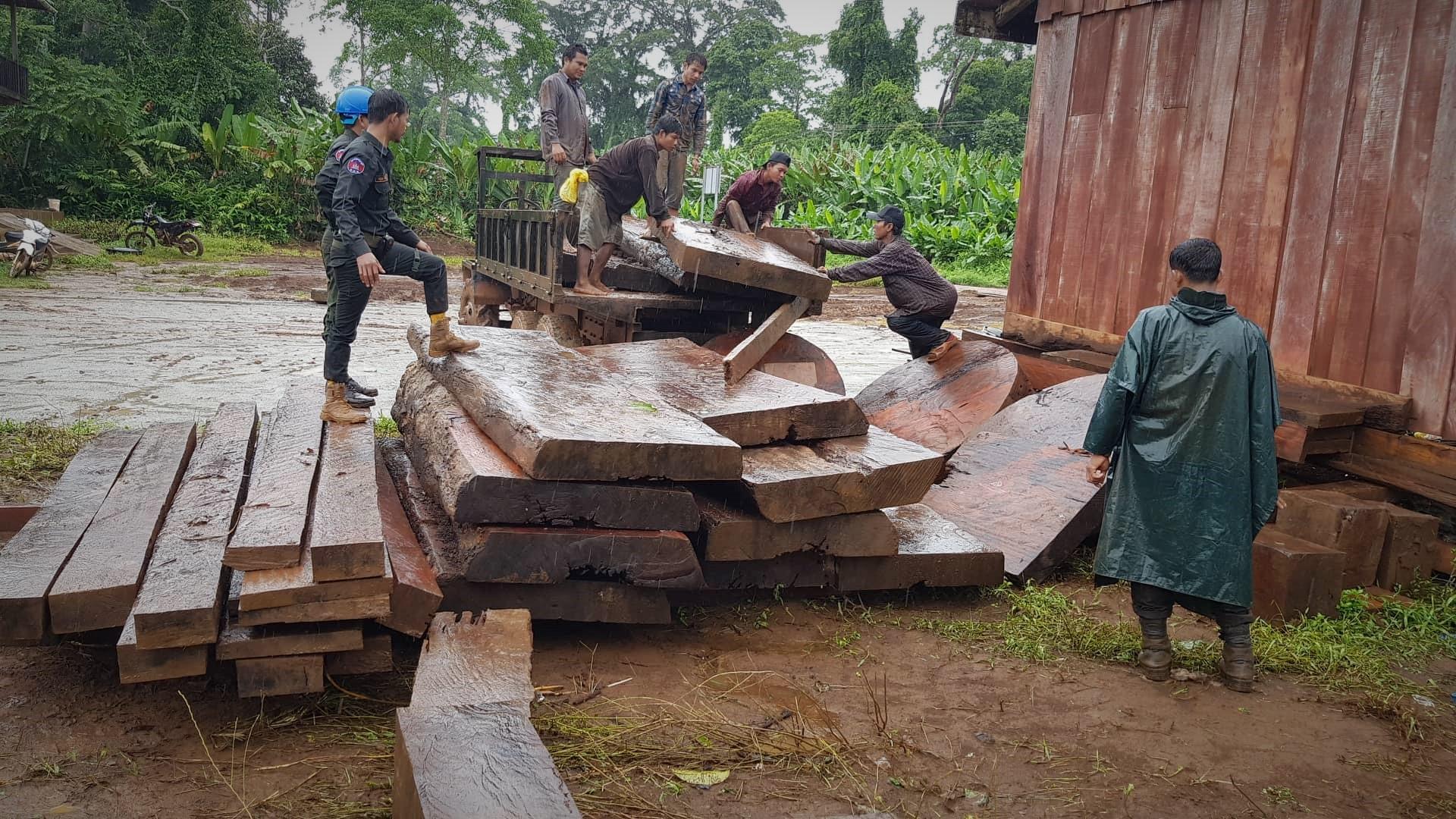 Unauthorized luxury timber